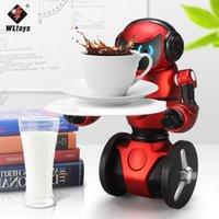 Wholesale New WLtoys F1 G Intelligent Balance G Sensor RC Robot Dancing Music Kids Toys