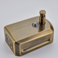 Wholesale And Retail Promotion Antique Bronze Soap Dishpenser Square Bathroom Kitchen Soap Dispenser ml