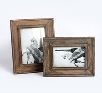 Cheap ZAKKA retro wood to do the old European-style 6-inch photo frame wood wedding photo studio wedding picture frame combination