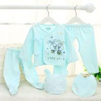 Wholesale The newborn baby underwear piece suit baby cartoon rabbit underwear cotton clothes