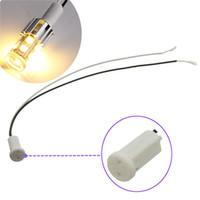 Wholesale Big Promotion G4 Ceramic Head LED Halogen Light Lamp Bulb Base Socket Holder Connector CM V