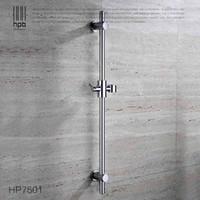 bar rail brackets - Han Pai Brass Bathroom Product Slide Bar Chrome Plated Head Holder Hand Held Shower Bracket Holder Sliding Rail HP7501