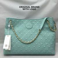 Cheap Hot NEW Fashion Brand bag famous designer shoulder bags women tote casual Diamond Lattice lady bolsos genuine leather handbag