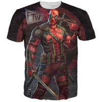 badass t shirts - New Arrive American Comic Badass Deadpool T Shirt Tees Men Women Cartoon Characters d t shirt Funny t shirts Casual tee shirts