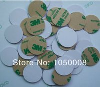 Wholesale NTAG213 NDEF type2 NFC tags RFID adhesive label sticker Nexus Balckberry Lumia size dia mm PVC with M glue