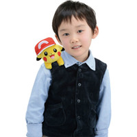 baby ride on toys - 2 Style Pokemo Pocket Monsters Pikachu Riding on the Shoulder Plush Stuffed Animals Toys For Baby Gifts quot