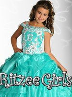 amazing birthday cake - Sell like hot cakes Hot sale Amazing Girls Lace Covered Pageant Gown Beautiful birthday party evening dress