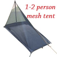 Wholesale Ultralight Outdoor Camping Tent Summer Person Mesh Tent Body Inner Tent Vents Lightweight Mosquito Net