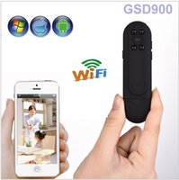 Wholesale Smallest Pocket Wifi Camera HD CMOS Police Body Worn Video Camera Full HD P DVR IR Camera For Andriod IOS