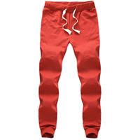 Wholesale HOT Fashion Men Pants Cotton joggers sweatpants Men s sport pants color big size S XL jogging