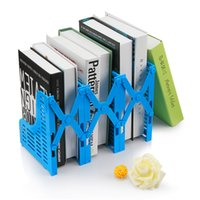 Wholesale Students can stretch bookends frame bookends textbooks office file file basket ratten