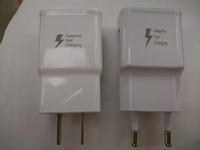 Wholesale 1 TOP Quality Adaptive Fast Rapid Home Wall Charger For Samsung Galaxy S6 S6 Edge Note
