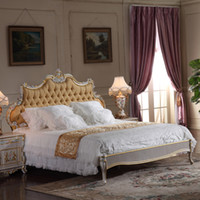 antique french style beds - French classic furniture bedroom baroque style queen bed high end classic solid wood bed