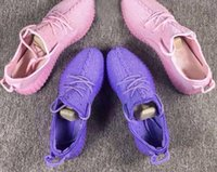 Wholesale High Quility boost For woman shoes purple and Full PinK Color boost Running Shoes US5 US7 with box