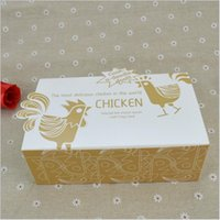 aseptic carton packaging - Korean style Fried Chicken Packed Boxes chicken wings takeaway food packaging cartons cm cm cm