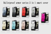 armor protect - Bulletproof armor series in1TPU and PC cell phone case protect the mobile phone for iphone5 s splus