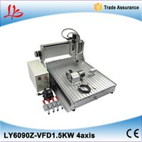Wholesale Mach3 control system mini cnc router KW axis mini cnc milling machine with rotary for assembled No tax ship from UK
