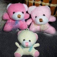 bear amigurumi - H cm Teddy Bear With Scarf Plush Pendants Toys Bouqeut jewellery accessory gift Soft Amigurumi Dolls Toys