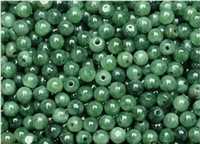 Wholesale Fast Shopping MM Natural emerald Burmese Jade green jade beads ice round bead DIY bracelet necklace Loose Beads
