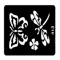 Wholesale New Design Henna Tattoo Templates Glitter Tattoo Stencil Neck Tattoos Designs Plantillas Tatuajes T001 EE
