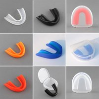 Wholesale Adult Mouthguard Mouth Guard Teeth Protect For Boxing MMA Football Basketball Karate Muay Thai Safety Multicolor