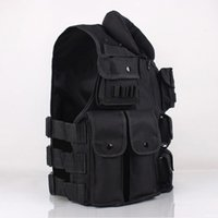 american tactical apparel - Cool Multifunctional Tactical Vest Black vest Athletic Sports Outdoor Tactical Vest Nylon Cotton Apparel Jackets American
