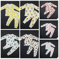 baby sleepsuits - Baby Ins Pajamas Lemon Nightwear Cactus Pineapple Sleepsuits Strawberry Boy Girl Nightwear Pajamas Set Sleepwear KKA525