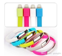 Wholesale Bracelet Wristband USB Charging Charger Data Sync Cable for iPhone S S C iPad Air WE
