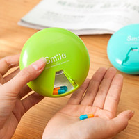 Wholesale pinkycolor degrees Weekly Rotating Pillbox Travel Pill Case Pill Organizer Medicine Box Pill Container