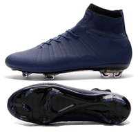 no name shoes - New X SUPERFLY IV all navy Men s soccer cleats customize name and No football boots soccer shoes