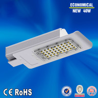 Wholesale High quality W AC85 V Led Street light adjustable street lighting meanwell driver hole size mm DHL