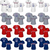 baseball choo - women Darvish Rougned Odor Joey Gallo Philadelphia Shin Soo Choo Texas Rangers Baseball Jersey stitched size S XL