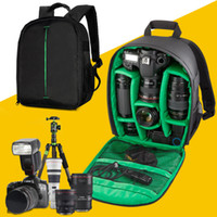 Wholesale New Pattern DSLR Camera Bags Backpack Video Photo Bags for Nikon Canon Cameras Small Compact Camera Backpack
