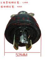 Wholesale 30A250V locking plug gasoline generator accessories ET950 American universal plug as EC2500 SH2900