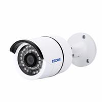Wholesale ESCAM H MP Bolt QD410 IP66 waterproof outdoor IP bullet camera IR Night Vision Onvif Surveillance Security CCTV Camera
