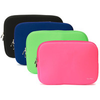 apple laptop promotion - Best Promotion Color Portable Laptop Zipper Soft Case Bag Cover Sleeve Pouch For Apple For Macbook Pro Air Notebook