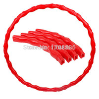 Wholesale Adjustable hula hoop thin waist lose weight massage Fitness Hula Hoops Abdominal Massage Health Equipment Thin Waist Disassemble