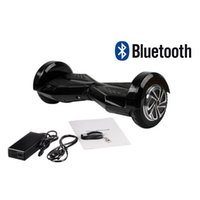 Wholesale Stock In US Smart Balance Wheel Hoverboard Inch Two Wheel Self Balance Scooter Remote Led Lights Bluetooth FedEx Shipping