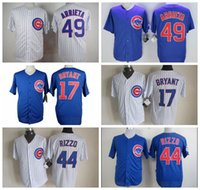 Wholesale Cheap Cubs Baseball Jerseys Bryant Baseball Jerseys Stitched Baseball Jerseys Cub Rizzo Baseball Shirts Cub Arrieta Jerseys