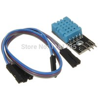 Wholesale 2pcs V DHT11 Temperature and Relative Humidity Detection Sensor Module For Arduino