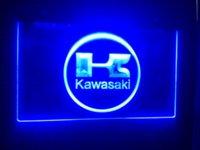 Wholesale TR kawasaki Beer Bar Pub Club LED Neon Light Sign Cheap sign life