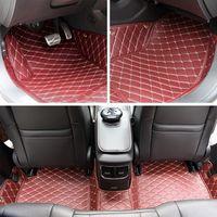 Wholesale Car Floor Mats Car Special Floor Mat Black Beige Wine Red Brown for Toyota Camry