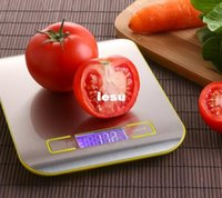 Wholesale New Arrive Kitchen Scale Cooking Measure Tools Stainless Steel Electronic Weight LED