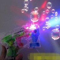 bubble gun - utdoor Fun Sports Bubbles Bubble Bottle Electric Bubble Gun Automatic Bubble Water Gun Music Flash Bubble Machine Bubble Wand Kids Child