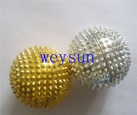 Wholesale pressing acupoints in your palms Magnetic Hand Acupuncture Ball Needle Massage