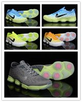 Wholesale 2016 brand ZOOM Fit Limited Edition Agility shock cushion training shoes white yellow gray green jade green tin size