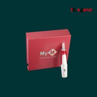 Wholesale Electric Derma Pen Stamp Auto Micro Needle Roller Anti Aging Skin Therapy Wand MYM derma pen dermapen with CE certificates