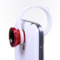 Wholesale 2016 new fashion Degree Universal in1 Fisheye Lens Micro Lens Wide Angle Kit phone clip lens for mobile phone