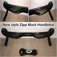 Wholesale 2016 The latest carbon Handlebar of Black design road bike handlebar Made in China with mm mm