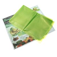 best fresh vegetable - Best Promotion New Kitchen Storage Food Vegetable Fruit and Produce Green fresh Bags Reusable Life Extender High Quality